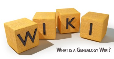 What is a Genealogy Wiki?