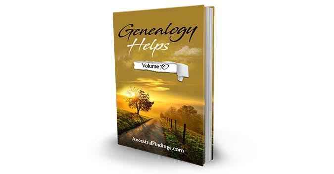 Genealogy Helps #10
