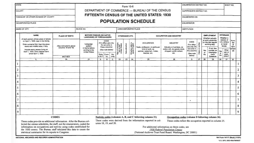 Getting the Most Out of the 1930 US Census