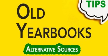Searching Old Yearbooks | Genealogy Clips | GC-064