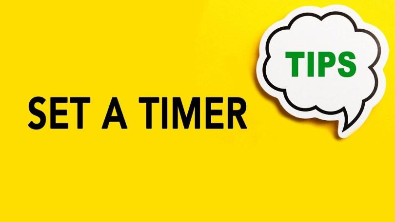 Set a Timer | Genealogy Clips #12