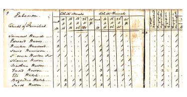 The 1820 US Federal Census — A Closer Look