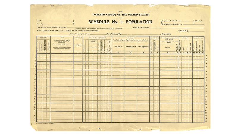 The 1900 US Federal Census: A Closer Look