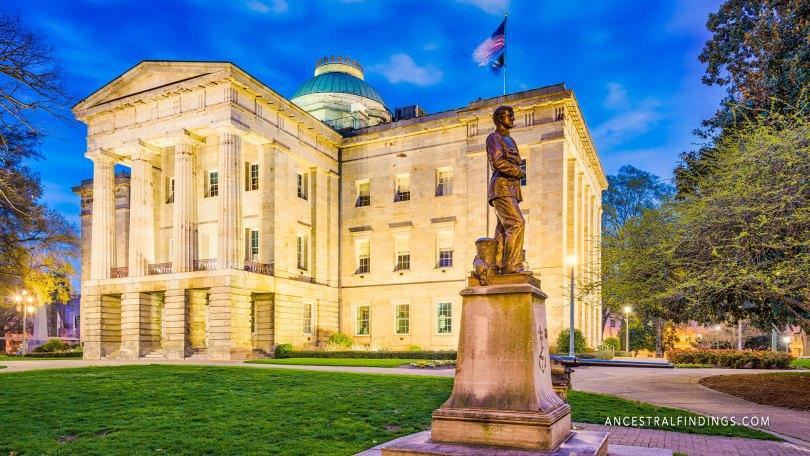 The State Capitals: North Carolina