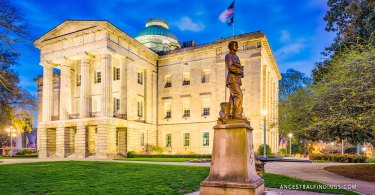 The State Capitals: North Carolina