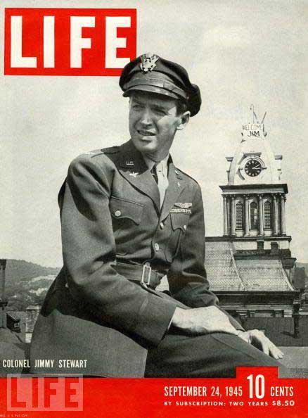 Jimmy Stewart Life Magazine