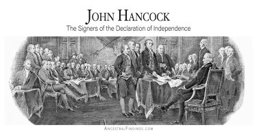 John Hancock: The Signers of the Declaration of Independence
