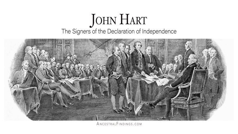 John Hart: The Signers of the Declaration of Independence