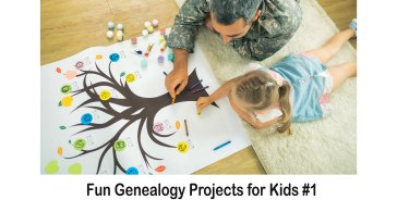 Fun Genealogy Projects for Kids #1