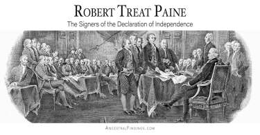 Robert Treat Paine: The Signers of the Declaration of Independence