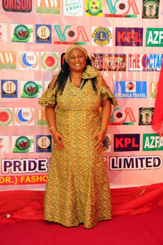 Mrs. Janina Walter {Oluwo's Team Member from Diaspora} (Party Day at Ijamido Town Hall)