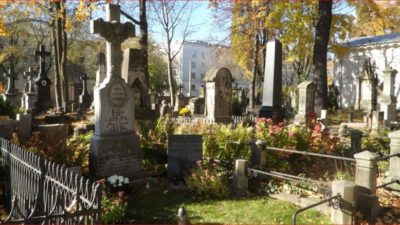 Searching ancestors at cemeteries in Poland - cementary in Warsaw