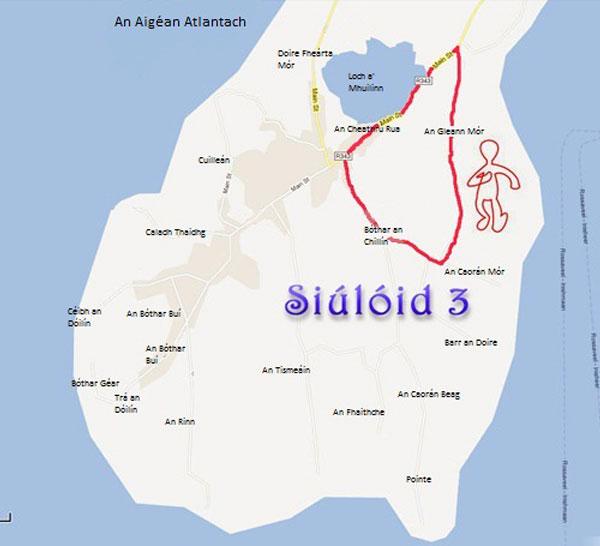Siúlóid 3 - Gníomhaíocht - An Cheathrú Rua