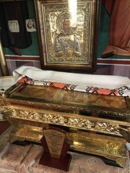 Veșminte sfinte ale Sfântului Dimitrie Cel Nou