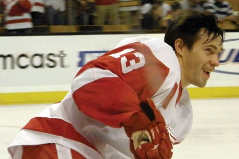 SKATING AWAY — Pavel Datsyuk may be skating off to the end of his career as a part of the Detroit Red Wings.