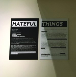 Hateful Things