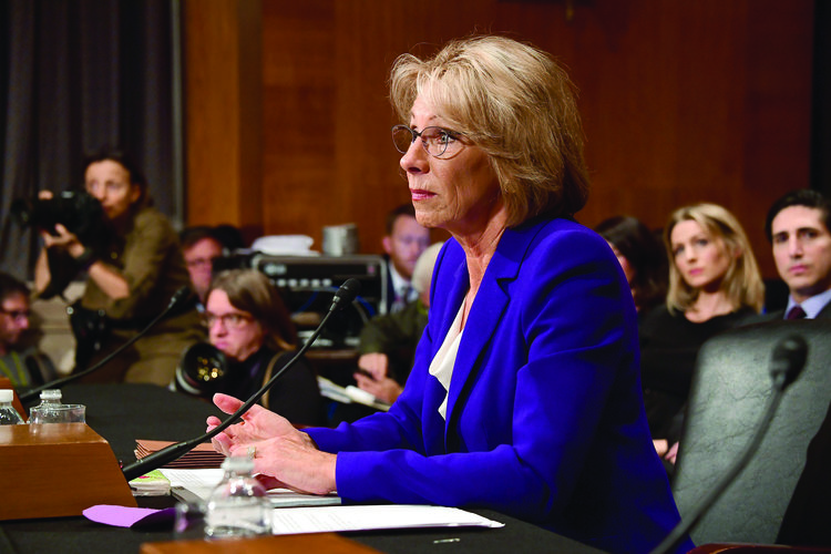 DeVos Confirmation Hearing