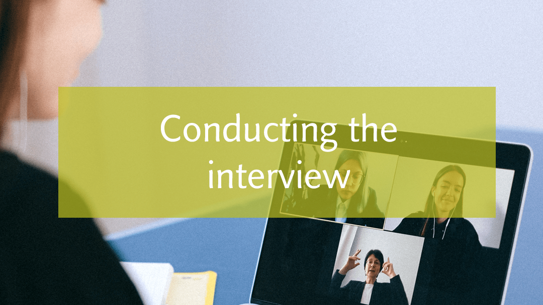 Apply best interview practices for the hiring process