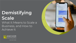 What is scaling in business? For many owners of creative agencies, scale in business is a mystery. What does it mean, and how can you use it to deliver sustainable business growth?