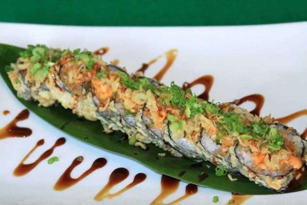 black jack sushi roll
