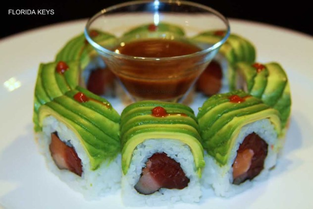 florida keys sushi roll