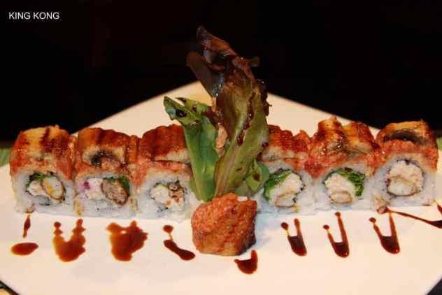king kong sushi roll