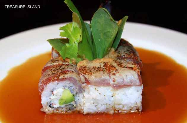 treasure island sushi roll