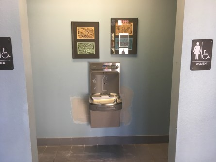New drinking fountains!