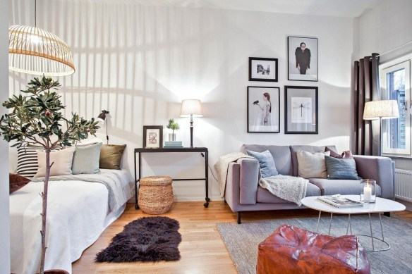 Amazing Ideas Decorating Studio Apartment 03