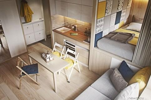 Amazing Ideas Decorating Studio Apartment 38