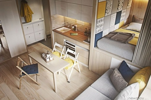 Amazing Ideas Decorating Studio Apartment 38