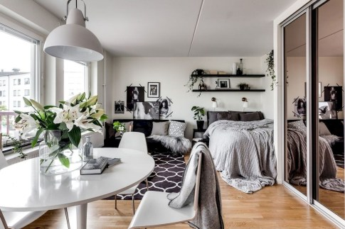 Amazing Ideas Decorating Studio Apartment 48