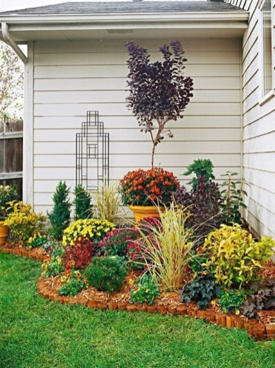 Beautiful Flower Garden for Your Front Yard 23