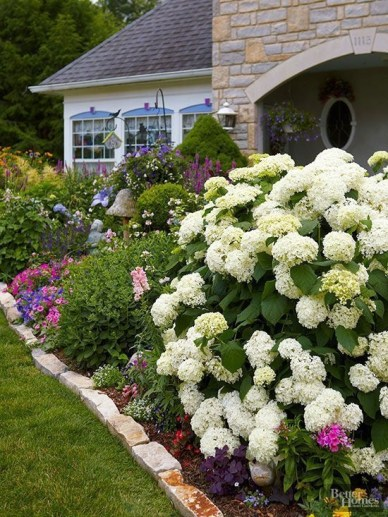 Beautiful Flower Garden for Your Front Yard 48