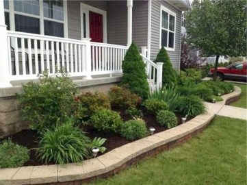 Beautiful Front Yard Landscaping Ideas On A Budget 49