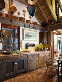 Best DIY Farmhouse Kitchen Decorating Ideas 15