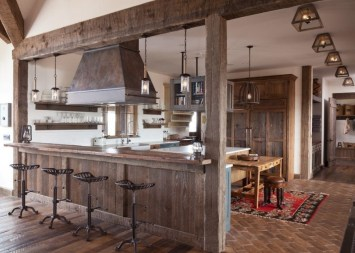 Best DIY Farmhouse Kitchen Decorating Ideas 38