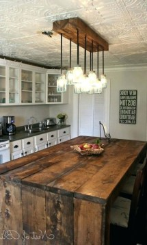 Best DIY Farmhouse Kitchen Decorating Ideas 50