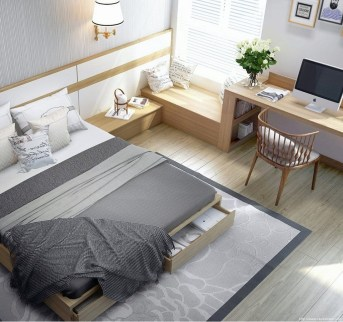 Best Design Small bedroom that Maximizes Style and Efficiency 25