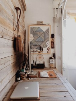 Bohemian Office Decor Inspiration 11