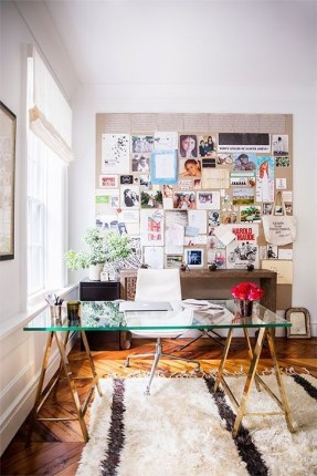 Bohemian Office Decor Inspiration 15