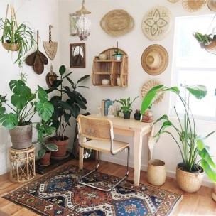 Bohemian Office Decor Inspiration 40