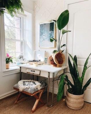 Bohemian Office Decor Inspiration 44