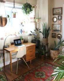 Bohemian Office Decor Inspiration 46