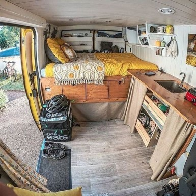 Brilliant Camper Van Conversion for Perfect Outdoor Experience 45