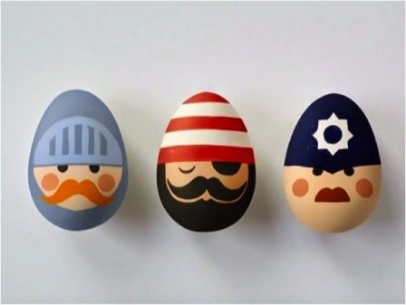 Brilliant DIY Egg Decorating Ideas 22