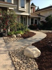 Cheap Front Yard Landscaping Ideas 50