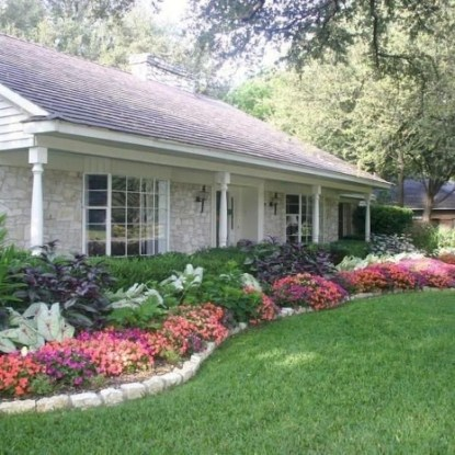Cheap Front Yard Landscaping Ideas 52