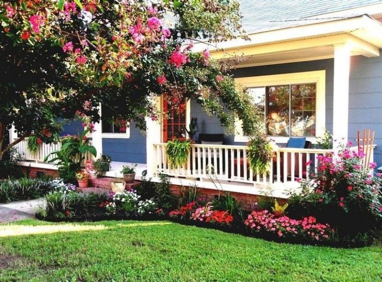 Cheap Front Yard Landscaping Ideas 56