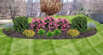 Clever & Beautiful Yard Island Landscaping for Backyard and Front yard 18